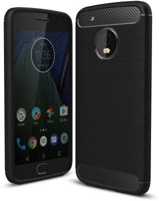 Golden Sand Back Cover for Motorola Moto G5 Plus(Black, Shock Proof)