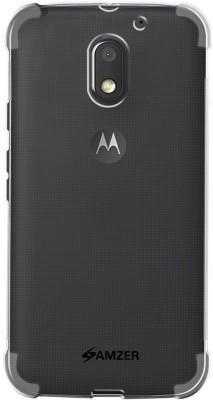 Amzer Shock Proof Case for Motorola Moto E3 Power, Motorola Moto E(3rd Generation)(Transparent)