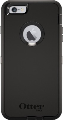 OtterBox Back Cover for Apple iPhone 6plus/6s plus(Black, Shock Proof, Rubber, Plastic)