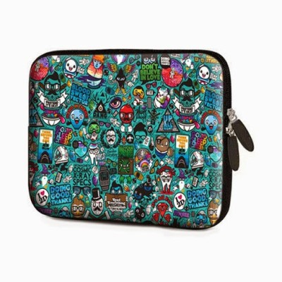 Theskinmantra Sleeve for All versions of Apple ipad(Multicolor)