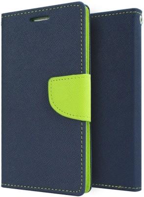 Spicesun Flip Cover for Lenovo A6000 Plus Blue
