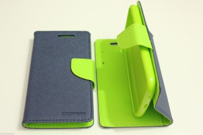 Ace HD Flip Cover for SamsungGalaxy Grand Duos(Blue, Cloth, Plastic)