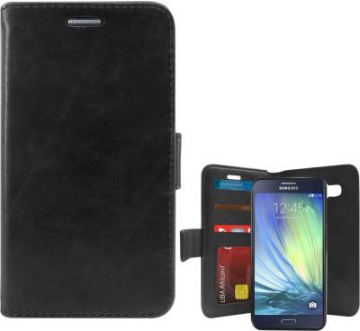 DMG Flip Cover for SAMSUNG Galaxy A7, Samsung Galaxy A7(Black)