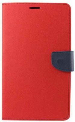 Exoic81 Flip Cover for Motorola Moto E  1st Gen  Red Exoic81 Plain Cases   Covers