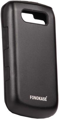 Fonokase -Protect in Style Back Cover for Blackberry 9700 / 9780(Black)