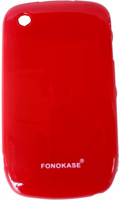 Fonokase Back Cover for BlackBerry 8520(Red)