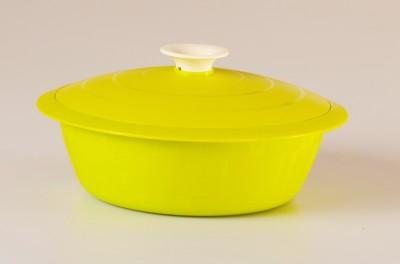 Cutting Edge Daffodil Serving Dish Elegant Casserole, Set of 1, 1800 ml, Green Casserole Set(1800 ml)  available at flipkart for Rs.279