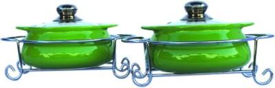 Rosa Italiano Pack of 2 Casserole Set(1000 ml) at flipkart