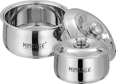 Mintage Pack of 2 Serve Casserole Set(1500 ml, 2200 ml) at flipkart