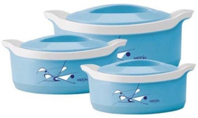 Milton Casserole Set(500 ml, 1000 ml, 1500 ml) at flipkart