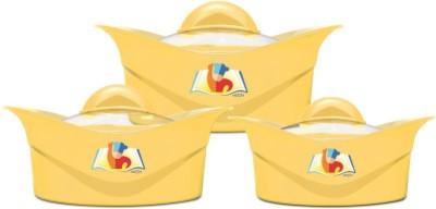 MILTON Regalia Glass Lid Jr Gift Set Pack of 3 Thermoware Casserole Set 500 ml, 1000 ml, 1500 ml MILTON Casseroles
