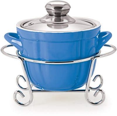 Cello Cuoco Round Metal Stand Casserole(1500 ml) at flipkart