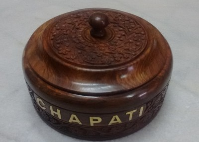Woodenclave Chapati Box Casserole(1.5 L) at flipkart