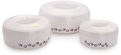 Cello Ultra Pack of 3 Casserole Set(500 ml, 850 ml, 1500 ml) at flipkart