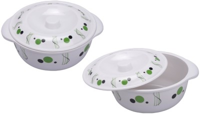 MEHUL Sharewell Glazed Melamine D_7001 Casserole Set 2 Pcs Pack of 2 Casserole Set(1.5 L)  available at flipkart for Rs.400