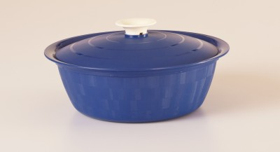 Cutting Edge Daffodil Serving Dish Classic Casserole, Set of 1, 1800 ml, Blue Casserole Set(1800 ml)  available at flipkart for Rs.279