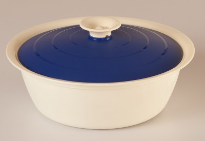 Cutting Edge Daffodil Serving Dish, 1800 ml, Pack of 1, Blue Casserole Set(1800 ml)  available at flipkart for Rs.279