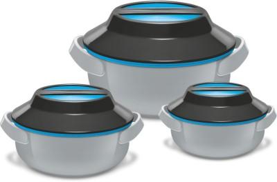 Milton microwow Pack of 3 Thermoware Casserole Set 1400 ml Milton Casseroles