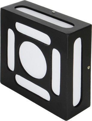 WhiteRay Wooden Ceiling Square Window Design 833 Night Lamp(7 cm, Black) at flipkart