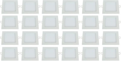 Bene Bene LED 18w Square Recessed Panel, Color of LED White Recessed Ceiling Lamp at flipkart