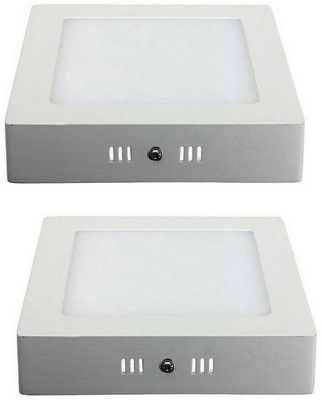 Celebrex 15W Square LED Surface Panel light Pack of 2pc Recessed Ceiling Lamp at flipkart