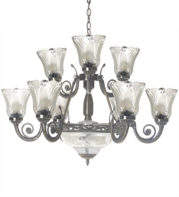 WhiteRay Chandelier Ceiling Lamp at flipkart