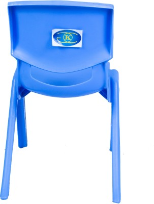 kGC Networks Kids Baby Multicolor Musical New Plastic Chair(Blue)  available at flipkart for Rs.520