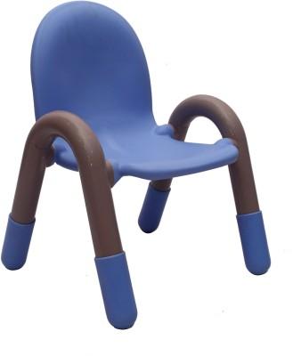 VJ Interior Metal Chair(Finish Color - Orange)