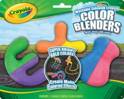 Crayola Crayola 3ct Sidewalk Crayon Blenders outdoor coloring sidewalk crayons(3 Sticks)