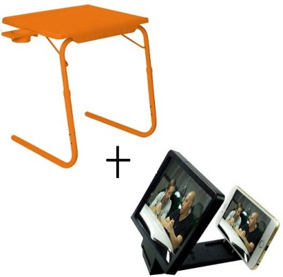 Tablemate Tablemate Adjustable Portable Folding Laptop Kid Study With 3d screen Enlarge Orange Changing Table