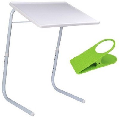 Table Mate II Adjustable Portable Folding Laptop Kid Study Mate With Clip Holder White Changing Table  available at flipkart for Rs.1089
