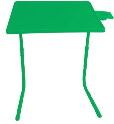 Table Mate II Adjustable Portable Folding Laptop Kid Study Mate With Cup Holder Green Changing Table  available at flipkart for Rs.1294