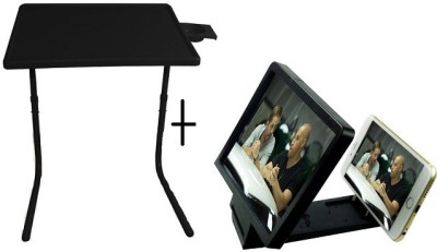 Tablemate TABLEMATE Adjustable Portable Folding Laptop Kid Study Mate With 3d screen enlarge Black Changing Table  available at flipkart for Rs.1448