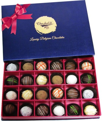 Chocholik 24Pc Classic Cabinet Of Chocolate Collection Chocolate Truffles(336 g) at flipkart