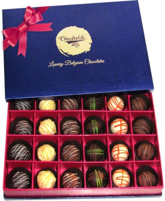 Chocholik 24Pc Only For Love Chocolate Truffle Collection Chocolate Truffles(336 g) at flipkart
