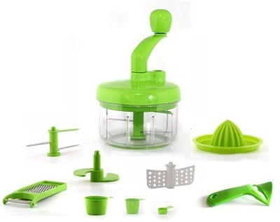 Crystal Mini Food Processor 7 in 1 Chopper(Green)  available at flipkart for Rs.1299