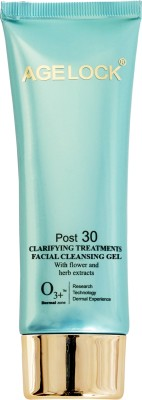 O3+ agelock Clarifying Treatments Facial Cleansing Gel(75 ml)  available at flipkart for Rs.674