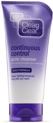 Clean & Clear Continuous Control Acne Cleanser, 168g