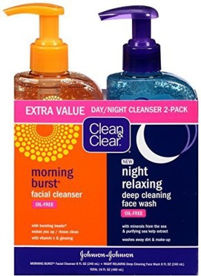 Clean & Clear Day / Night Pack(473 ml)