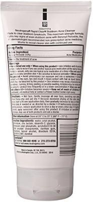 Neutrogena Rapid Clear Stubborn Acne Cleanser (5Oz)