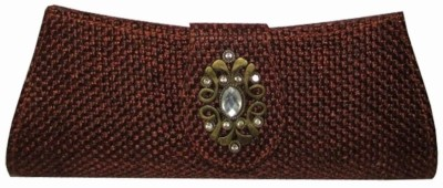 MTE Women Formal, Party Brown  Clutch