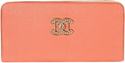Costa Swiss Women Wedding, Casual, Party, Formal, Festive Orange  Clutch  available at flipkart for Rs.299