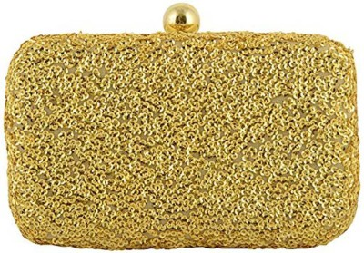 Duchess Women Wedding, Party Gold  Clutch
