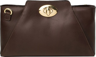 Hidesign Casual Brown  Clutch at flipkart