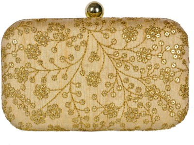 Duchess Women Party, Wedding, Casual, Festive Gold  Clutch