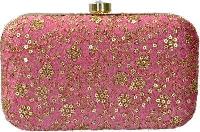 Duchess Women Wedding, Party, Casual Pink  Clutch
