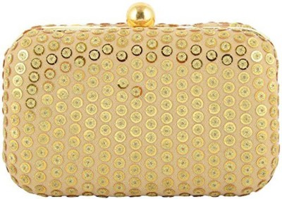 Duchess Women Wedding, Party Gold, Beige  Clutch