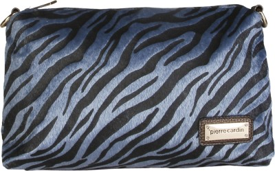 Pierre Cardin Casual Blue, Black  Clutch at flipkart