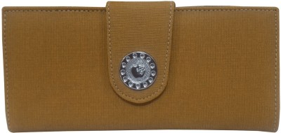 Natali Traders Women Khaki  Clutch