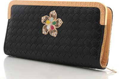 Foolzy Party Black  Clutch at flipkart